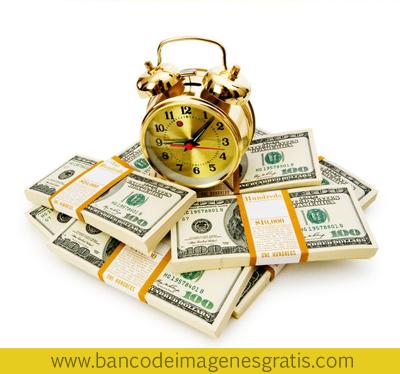 El tiempo es oro - Time is money - Dinero y Reloj
