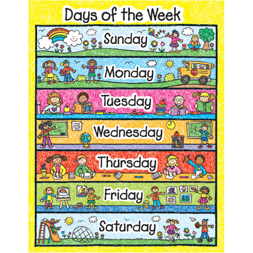 Great 1) Students Will Write Out The Days Of The Week To Assure That They Are  Using The Correct Spelling