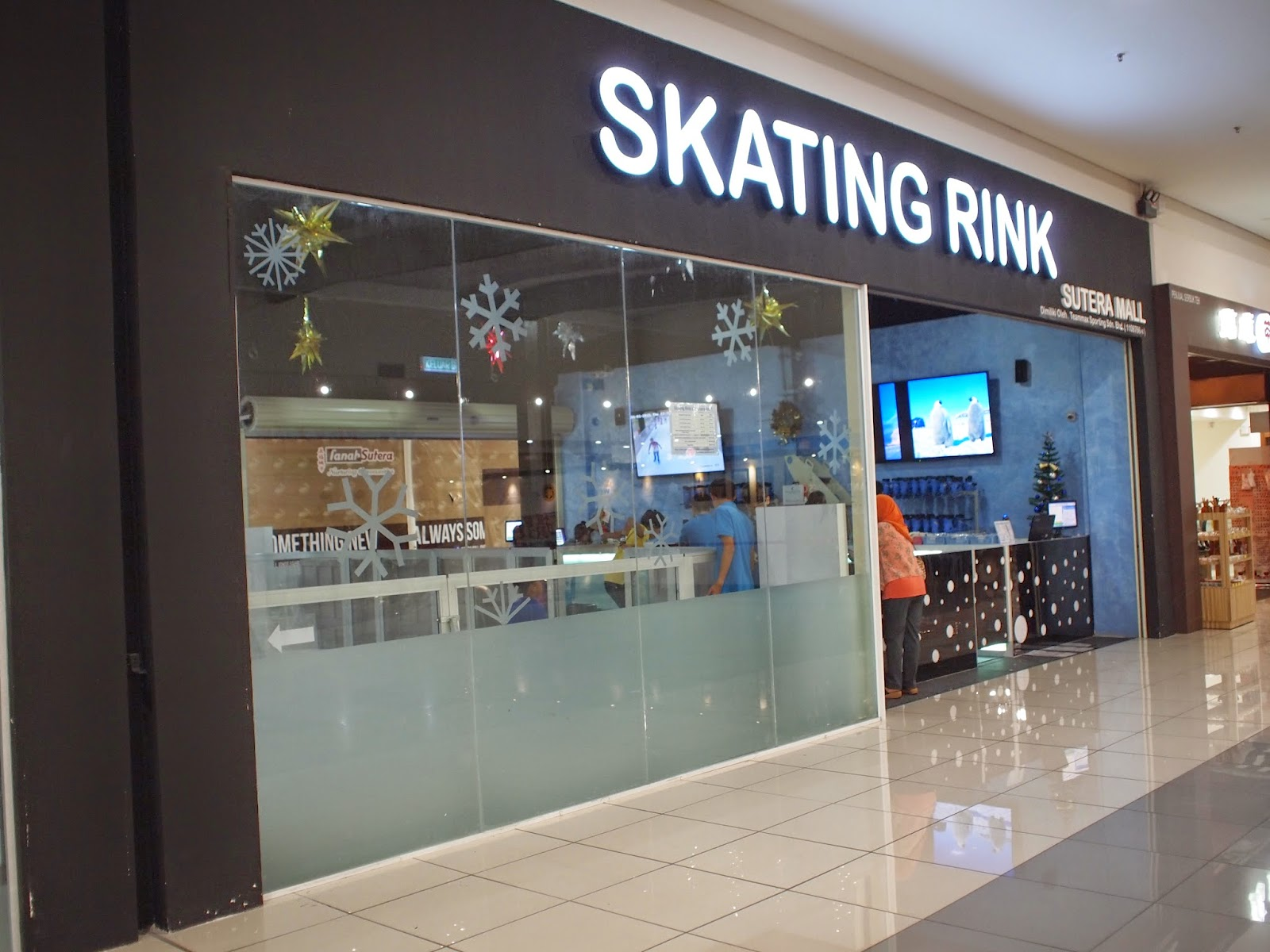 Skating Rink, Sutera Mall