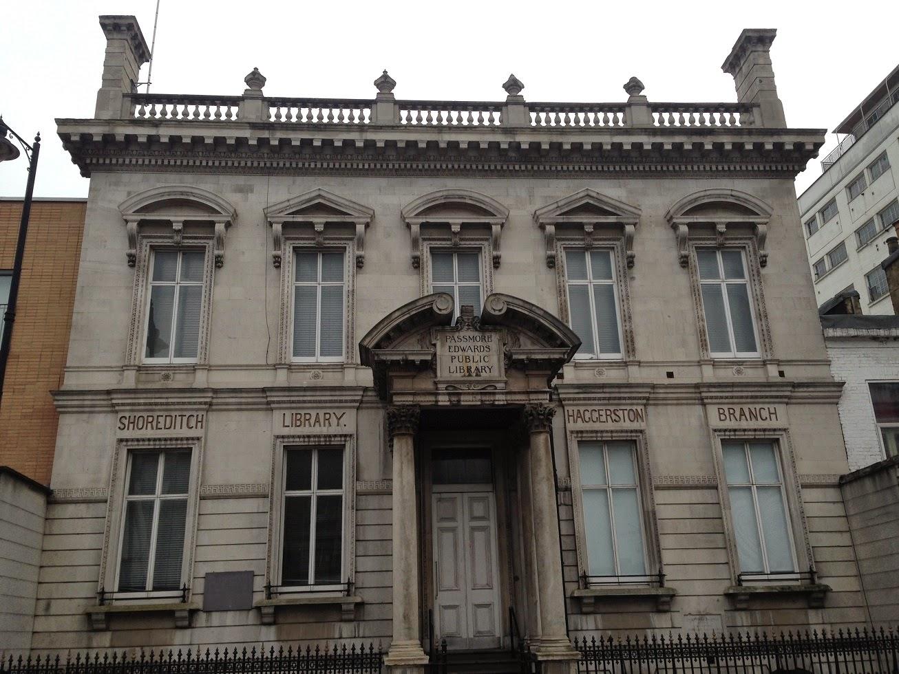 Former library, Shoreditch, London N1