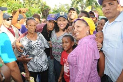 En Azua Margarita define como irreversible la victoria del PLD