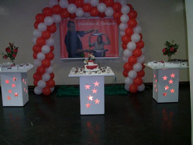 mesa provençal - decoração para chá de panelas