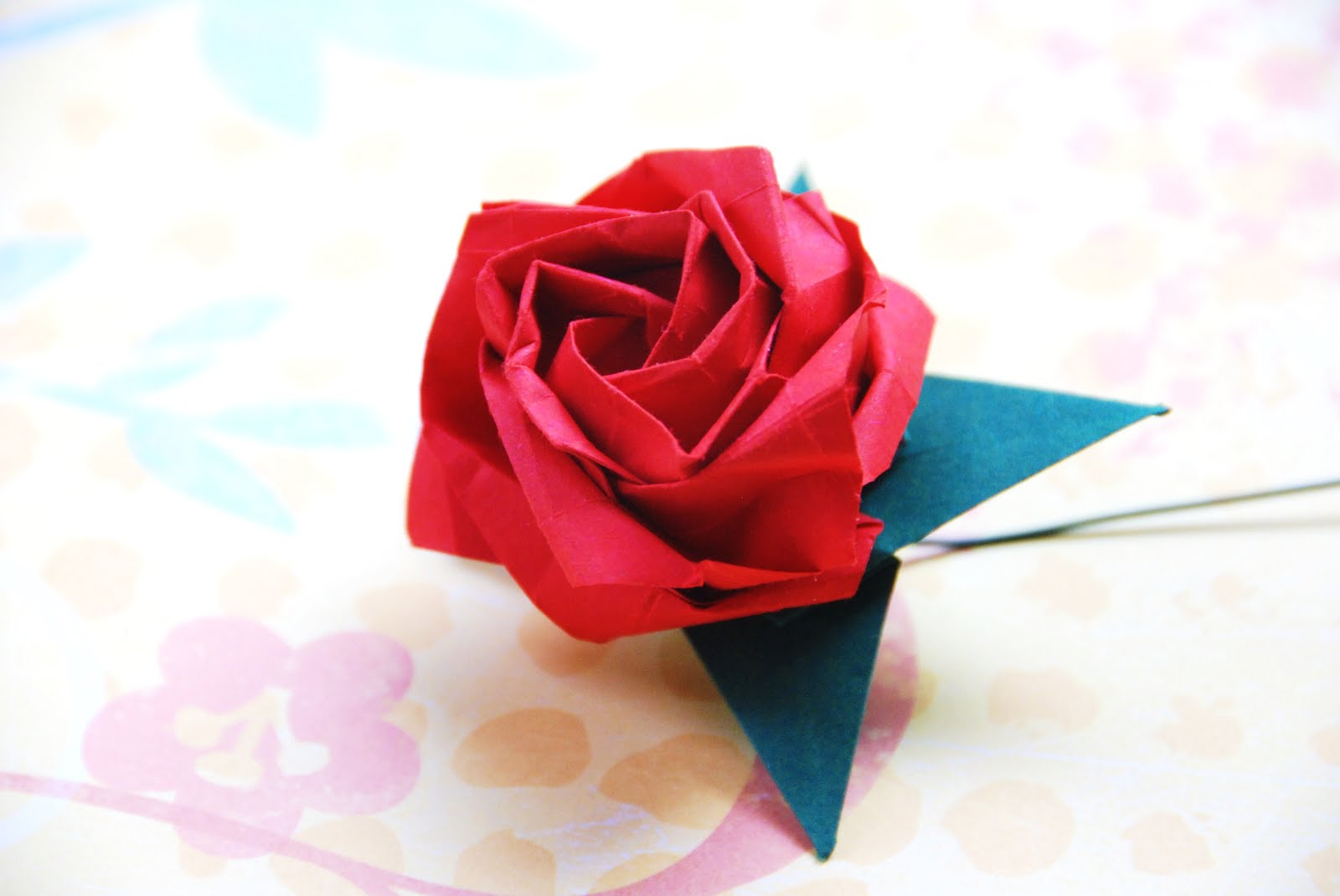 Everything Origami: New Origami Kawasaki Rose - photo#46