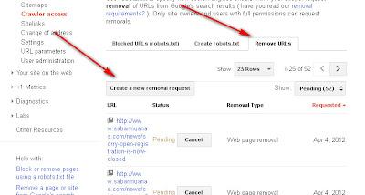 Mengatasi error 404 di google webmaster tool