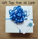 Recycle Old Cards to Make Gift Tags