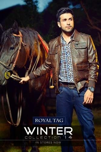 Royal Tag leather Jacket