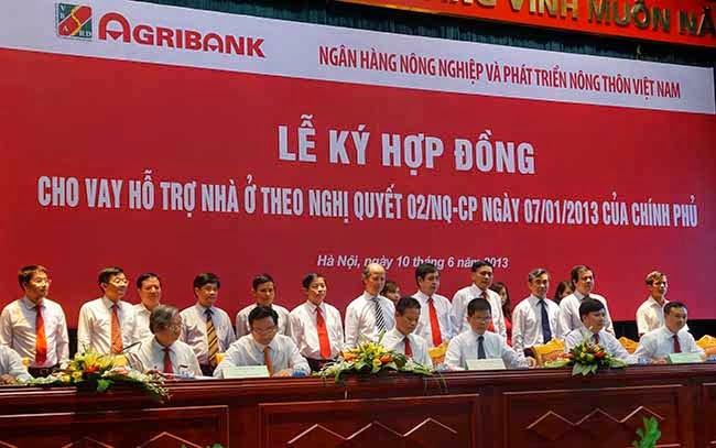 Agribank kí hợp đồng