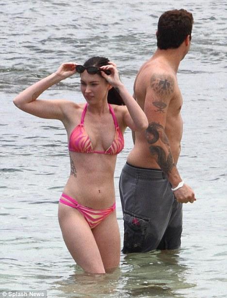 Megan Fox Bikini Beauty Style