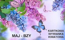 Kartkowa wymianka kwiatowa - bzy