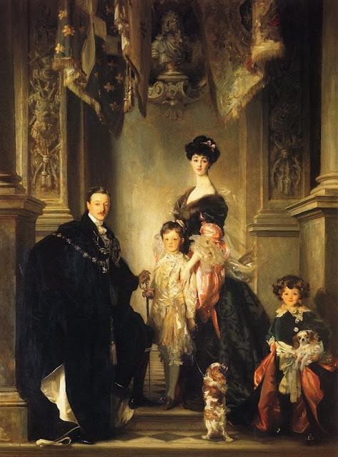 John Singer Sargent, Impressionims, family portrait