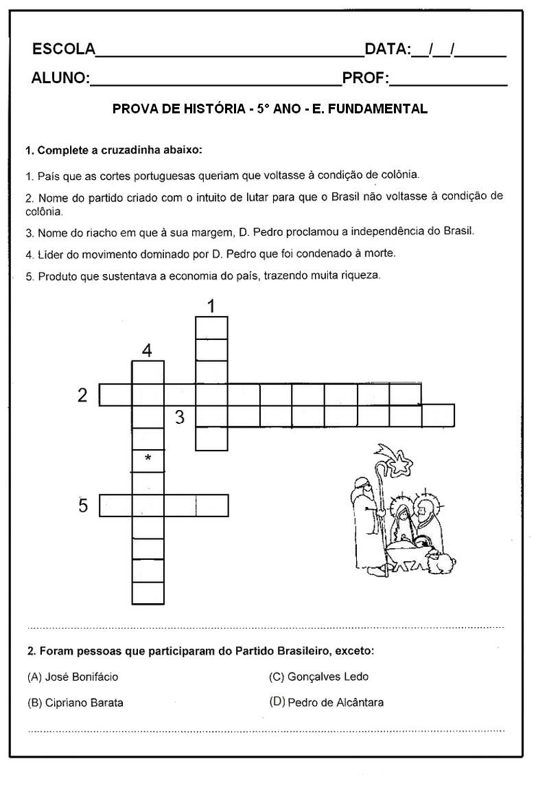 PROVAS 5   ANO TESTES AVALIA    ES EXERC  CIOS ATIVIDADES PARA