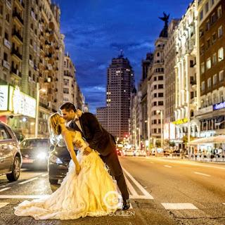 la gran va es un lugar emblemtico para dejar constancia del da de tu boda