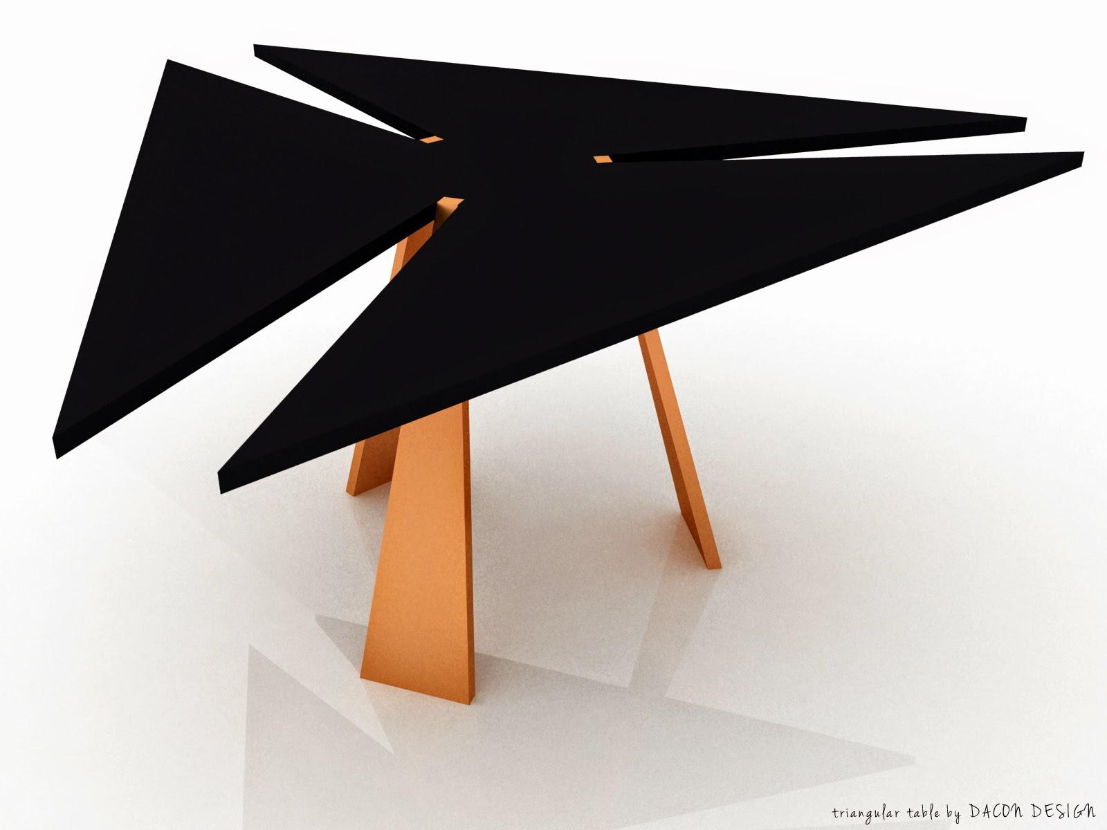Trójkątny stół