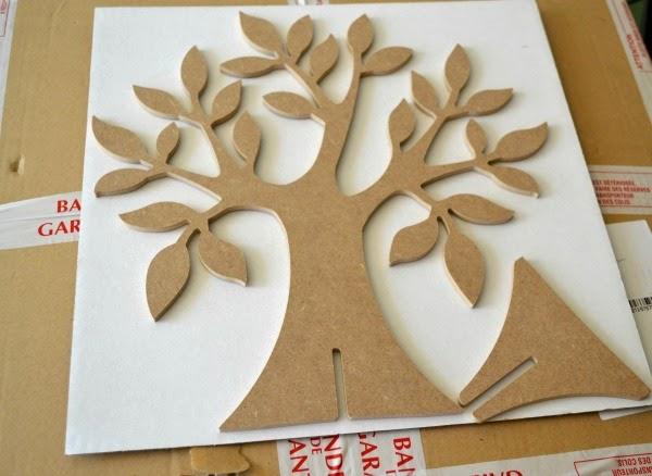 Whimsical un arbre porte bijoux diy - Arbre a bijoux en bois ...