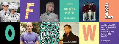 Flow Festival Slovenia 2015 Lineup
