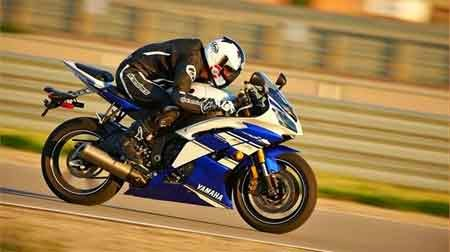 Gambar YZF-R6 2015 Blue Color