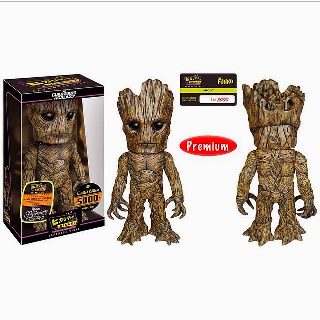 Guardians of the Galaxy Groot Marvel Hikari Sofubi Vinyl Figure by Funko