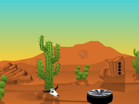 Play Ajazgames Desert car esca…