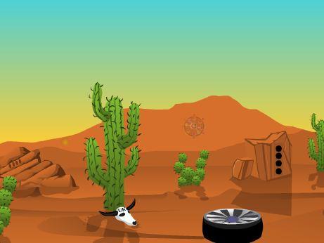 Ajazgames Desert car esca…