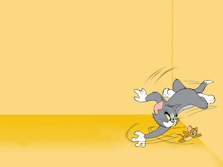 Background Power Point Tom Jerry Kartun