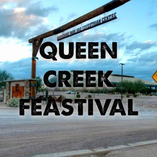 Logo for the Queen Creek Feastival