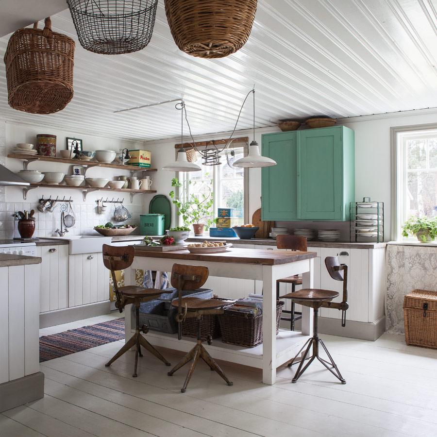 La petite fabrique de r ves chez sandra une cuisine for Cuisine shabby style