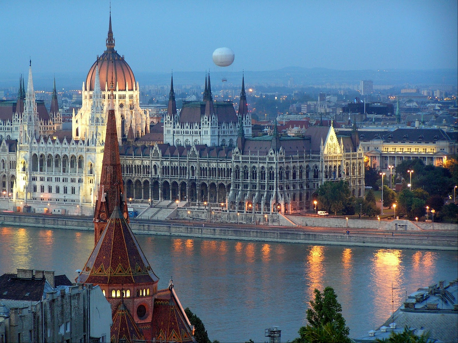 the first stop is buda...