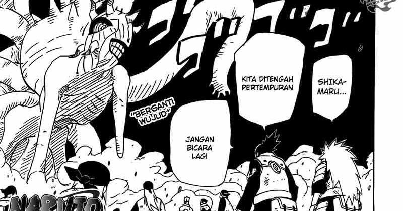 "... KOMIK NARUTO CHAPTER 614 ""UNTUKMU"" BAHASA INDONESIA ~ AMMIAMMAD96"