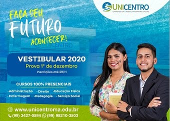 UNICENTRO - VESTIBULAR 2020/1