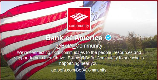 Best Cool Twitter Headers bank of america
