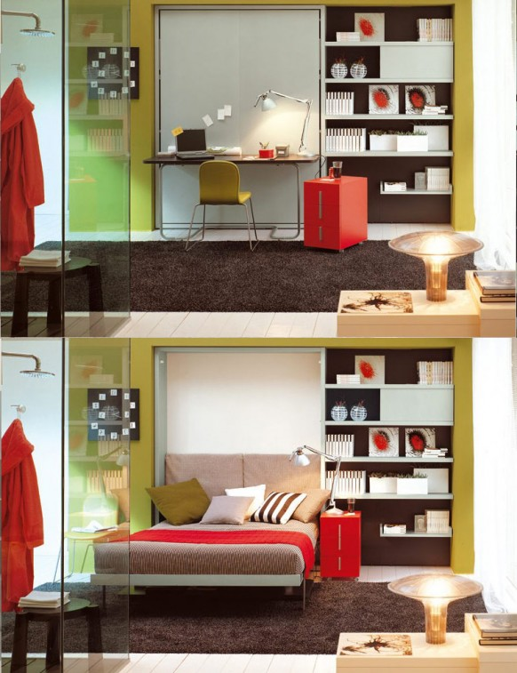 Creative multi purpose furniture for small spaces ideas for Creative furniture for small spaces
