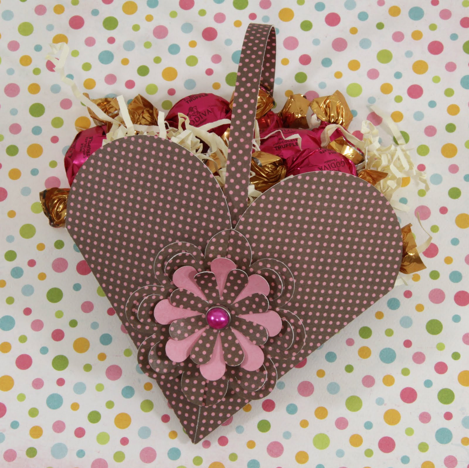 Samantha walkers imaginary world flower heart basket and cool flower heart basket and cool summer paper collection mightylinksfo