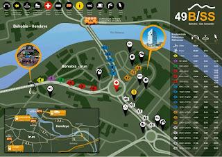 Mapa salida Carrera behobia San Sebastian