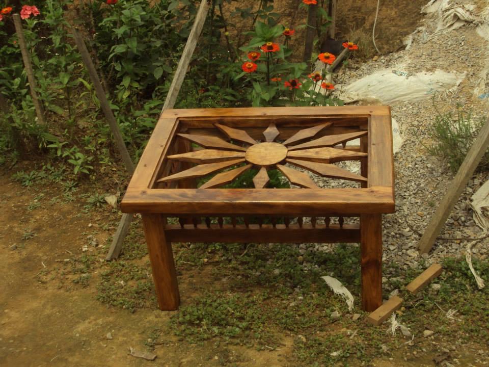 Muebles rusticos y artesanales bautistas for Muebles artesanales