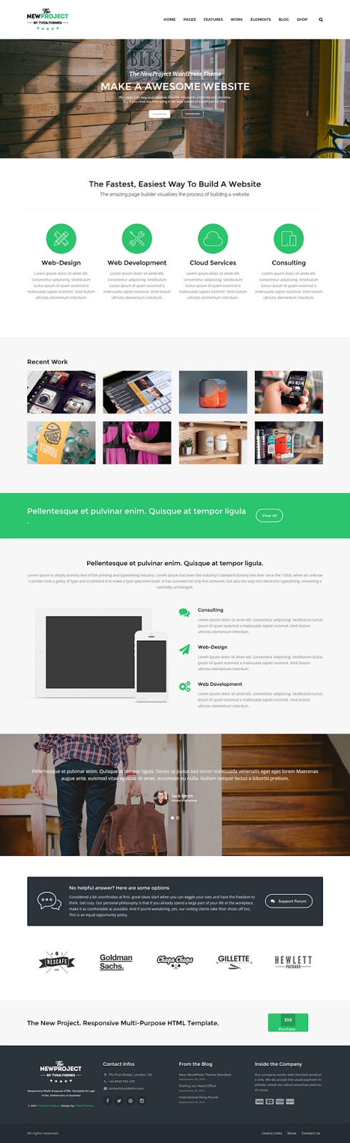 Best Multipurpose WordPress Theme