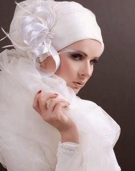 Coiffure hijab mariage