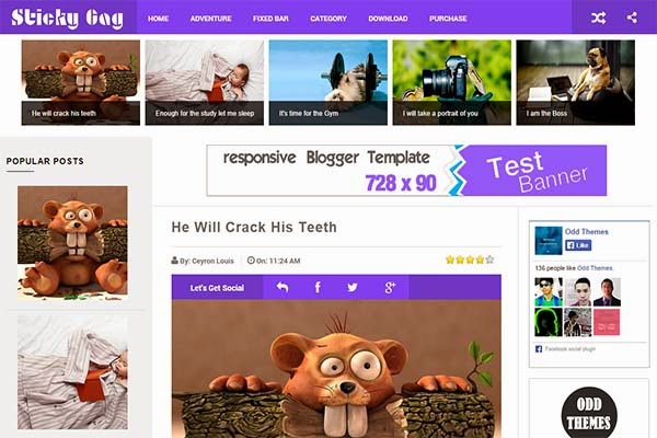 sticky-gag-free-blogger-templates