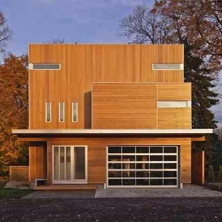 model lain rumah kayu minimalis 2 lantai - blog koleksi