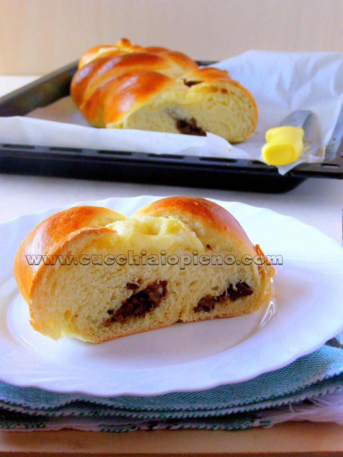 pão recheado delicioso