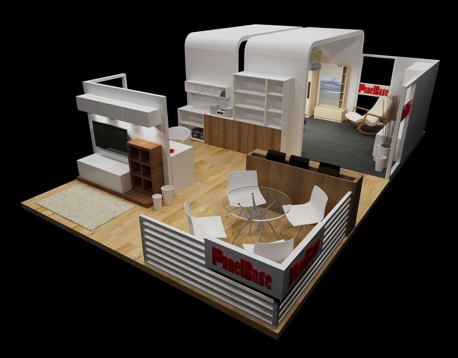 Furniture Exhibition Booth Design : Fabrics sewing furniture exhibition booth