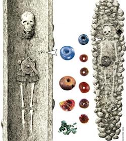 rogduasllsqmgjnb66oa - Vidrio azul enlaza al Rey Tutankamón con las mujeres Nórdicas de la Edad de Bronce