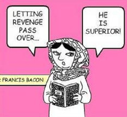 a summary of on revenge by francis bacon Explore 'bacon's essays on revenge, envy and deformity' on the the great philosopher and statesman francis bacon bacon questions whether revenge is legally.