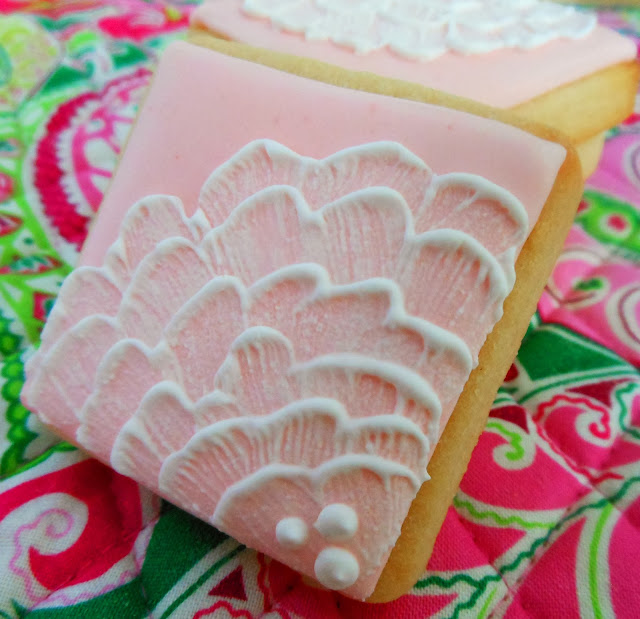 My Cookie Clinic: BRUSH EMBROIDERY COOKIES/ Afternoon Tea