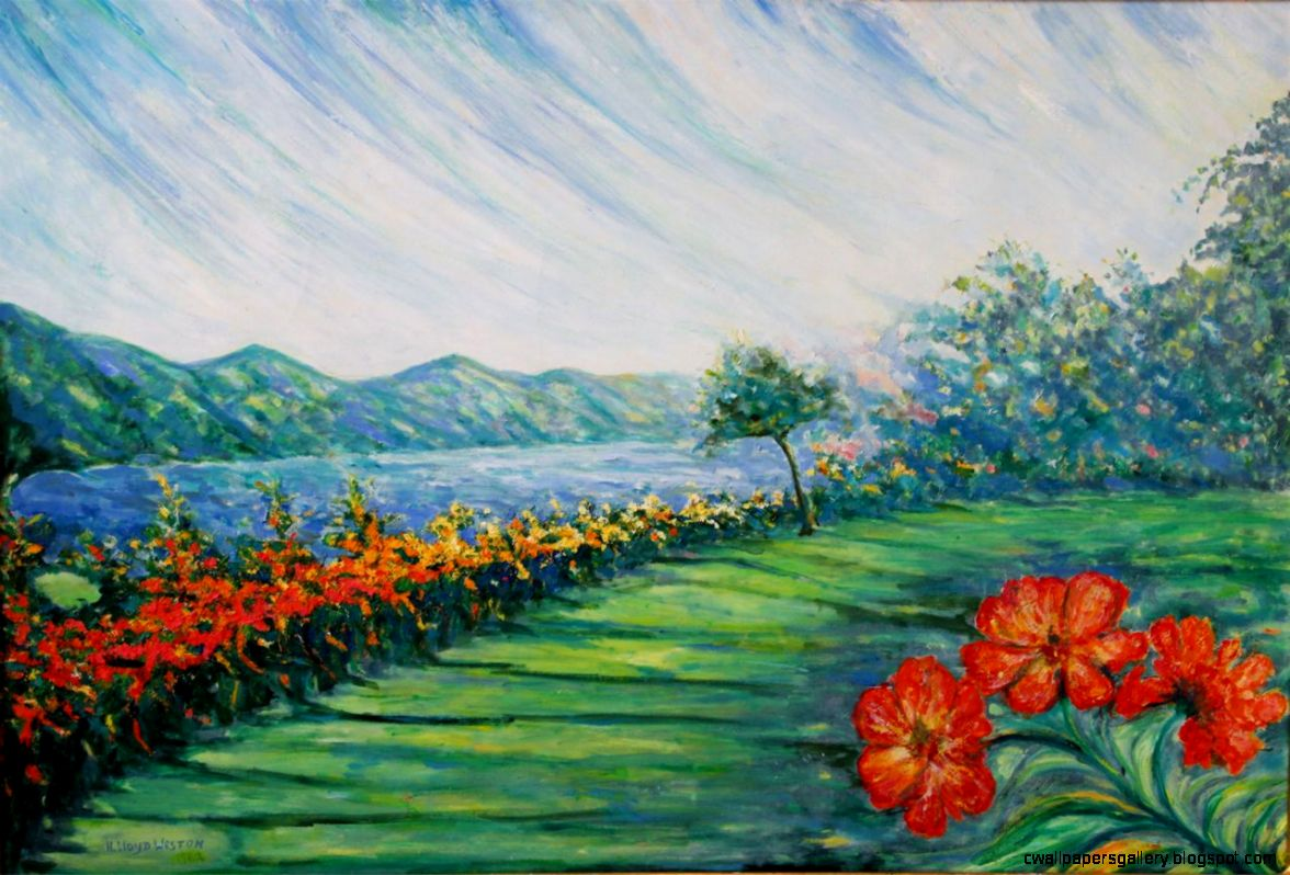 Easy Paintings Of Nature For Beginners