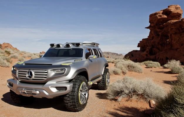 Mercedes-Benz Ener-G-Force pura ficção científica