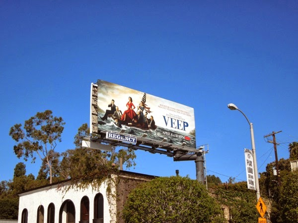 Veep series 3 billboard