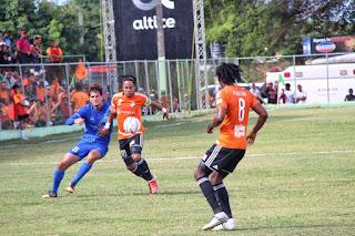 Terminan sin goles Atlatico FC y Cibao FC en inicio semifinal de la LDF