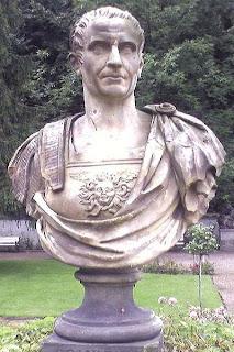Busto de Pompeyo el Grande que está expuesto en Varsovia Polonia