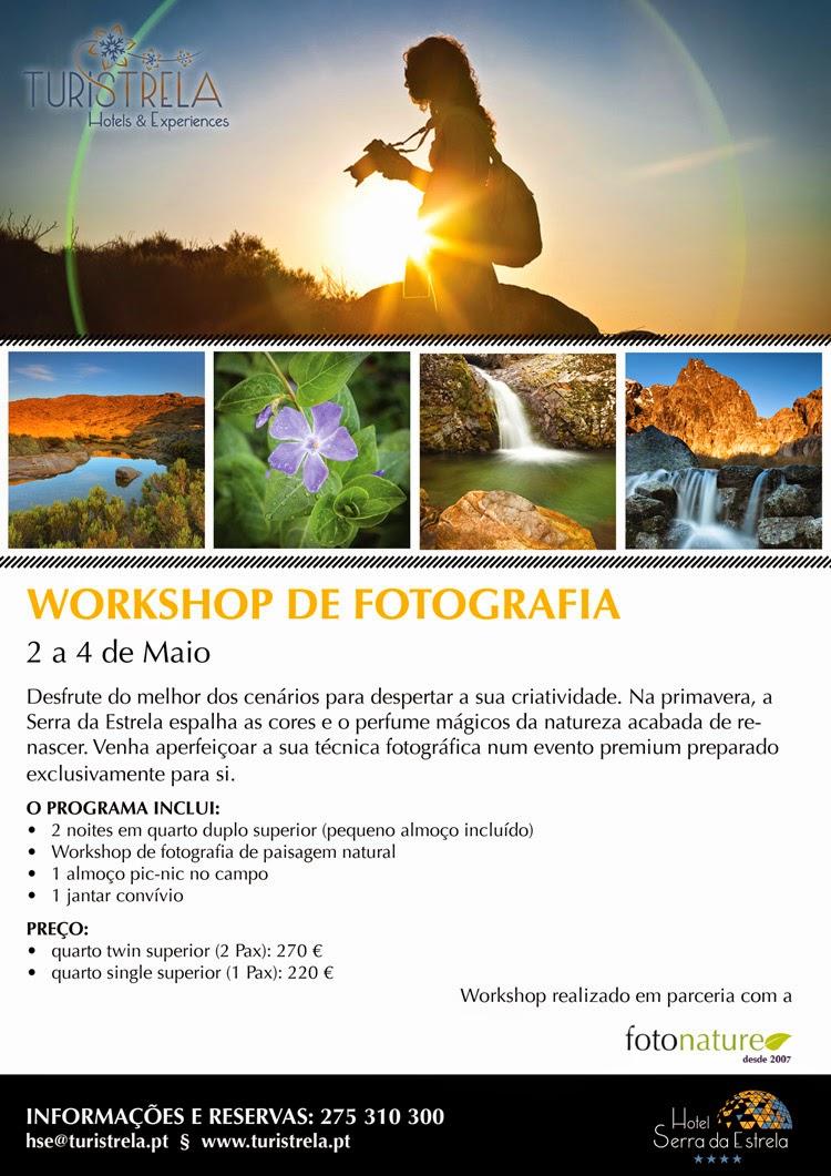 Workshop de fotografia de paisagem natural na Serra da Estrela