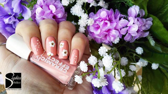 nail art fiore di primavera 01